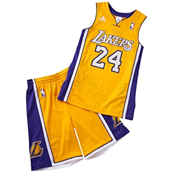 adidas Los Angeles Lakers Bryant Kit Youth 805dc20c8738