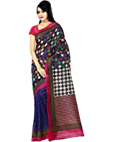 Glory Sarees Silk Saree (Kalapi24_Blue)