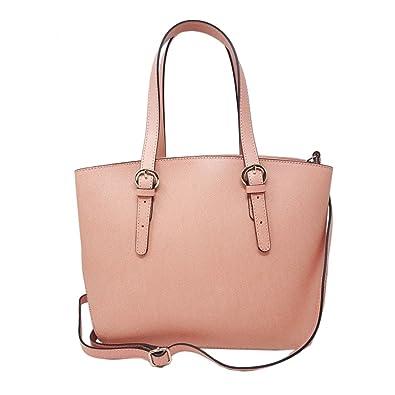 ac7f8e9a05086 Dream Leather Bags Made in Italy toskanische echte Ledertaschen Echtes  Leder Shopper Farbe Rosa - Italienische