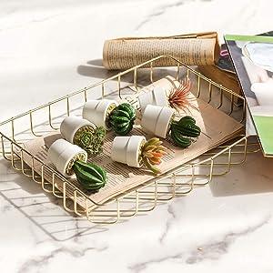 Hejdeco Mini Succulent Cactus Plants Artificial, Assorted Fake Cacti Bulk, Small Faux Cactus Decor, Set of 6 (White)