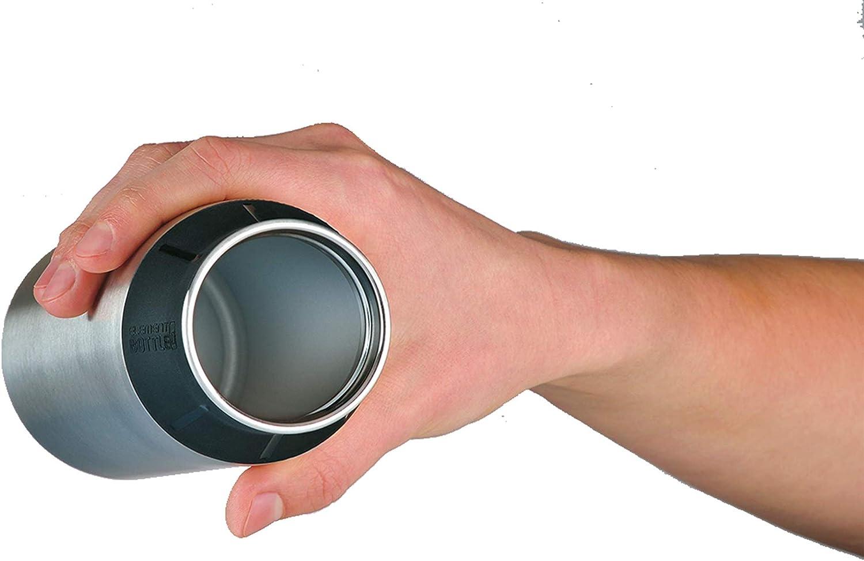 zerlegbarer Verschluss BPA-Free Edelstahl Wei/ß 0,6 l alfi 5397.902.060 Trinkflasche Jungle Sp/ülmaschinenfest