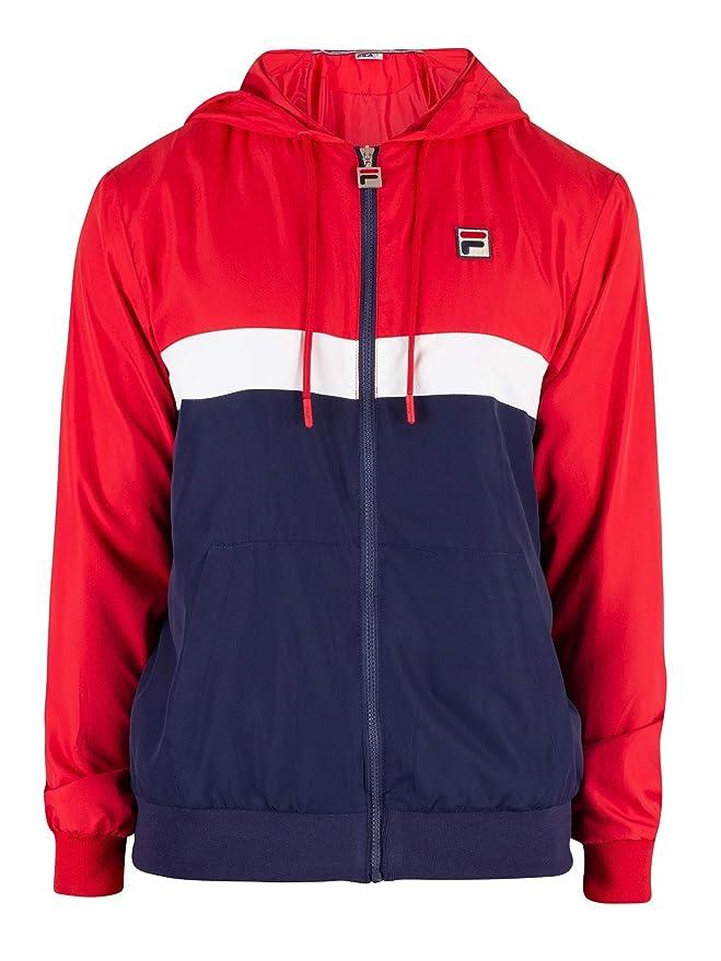 Fila Mens Ambrose Colour Block Jacket, Blue at Amazon Mens ...