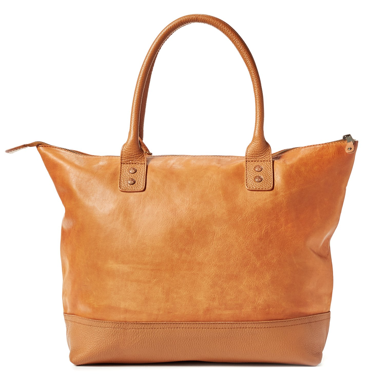 Amazon.com   Will Leather Goods Totes Bag Collection Tan Leather Getaway  Tote   Travel Totes a316070bc9