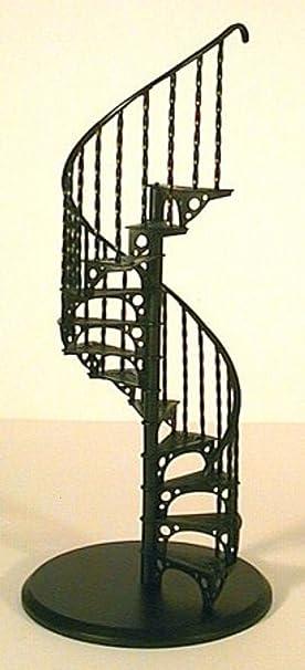 Amazon.es: Melody Jane Casa de Muñecas Espiral Escalera Kit Metal 1:12 Escala Miniatura Escaleras: Juguetes y juegos