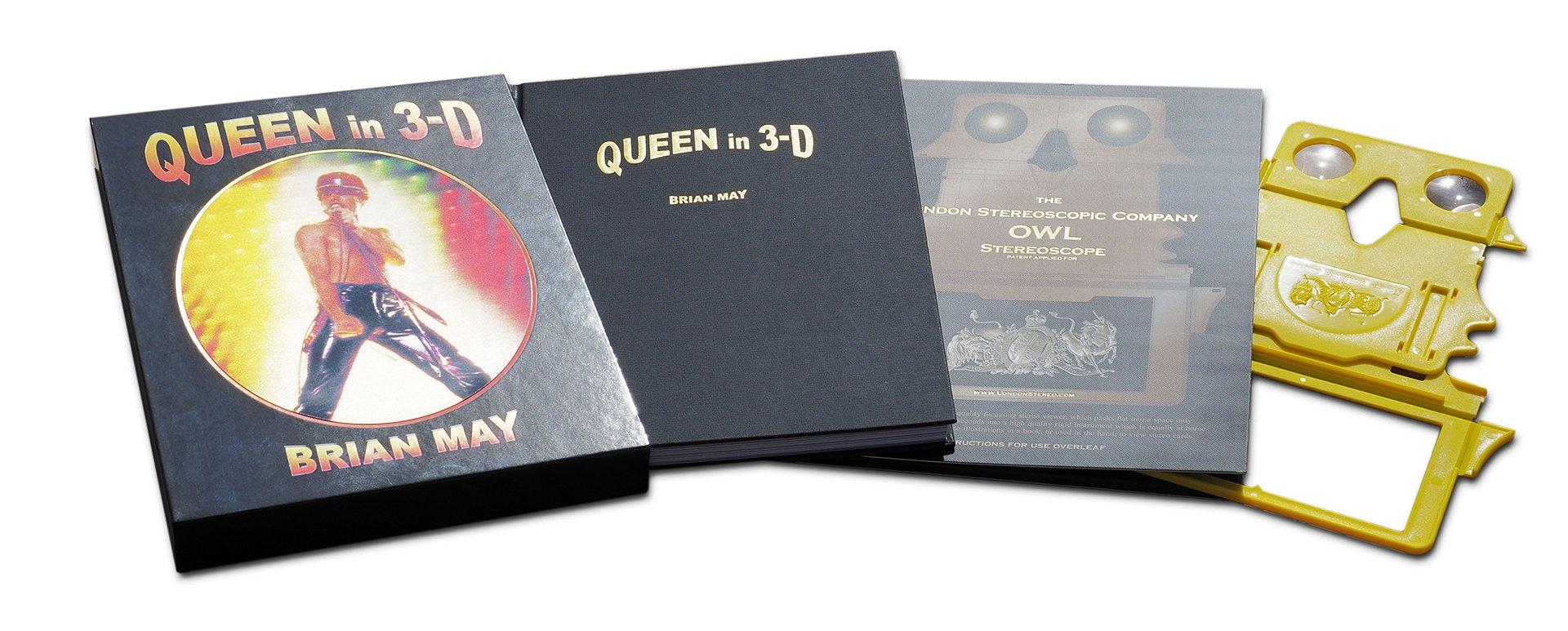 Brian May izdaje 3D knjigu o Queenu