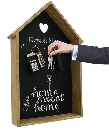 Royal Brands Chalkboard Calendar Wood Frame Chalk Board Daily Message Wall  Calendar Decorative Rustic Look Family Blackboard Planner Home Office or