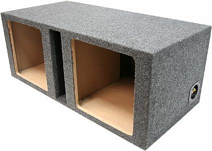Car Audio Single 15 Vented Sub Box for Kicker L7 Square Subwooofer