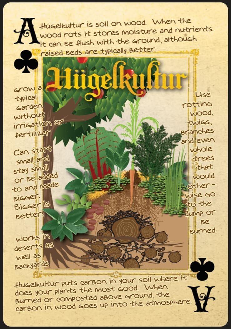 hugelkultur playing card