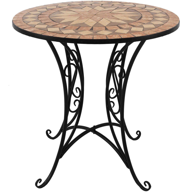 kleiner gartentisch rund moderner gartentisch rund metall cm burton tisch with kleiner. Black Bedroom Furniture Sets. Home Design Ideas