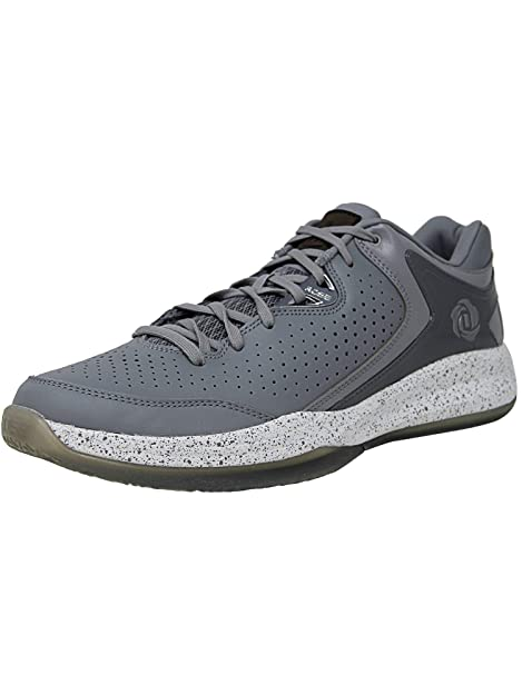 Zapatillas de baloncesto de Adidas D Rose Englewood Iii 12,5 Onix-plata: Amazon.es: Zapatos y complementos