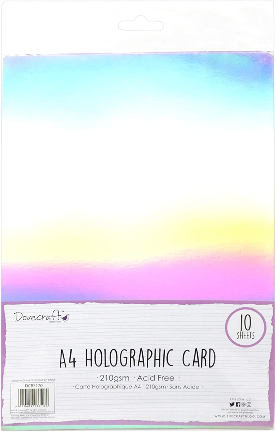 Holographic Foiled Fun Stickers BuntingChildrens Craft Stickers SALE