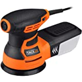 TACKLIFE 5-Inch Random Orbit Sander 3.0A with 12Pcs Sandpapers, 6 Variable Speed 6000-13000RPM Electric Sander, High…