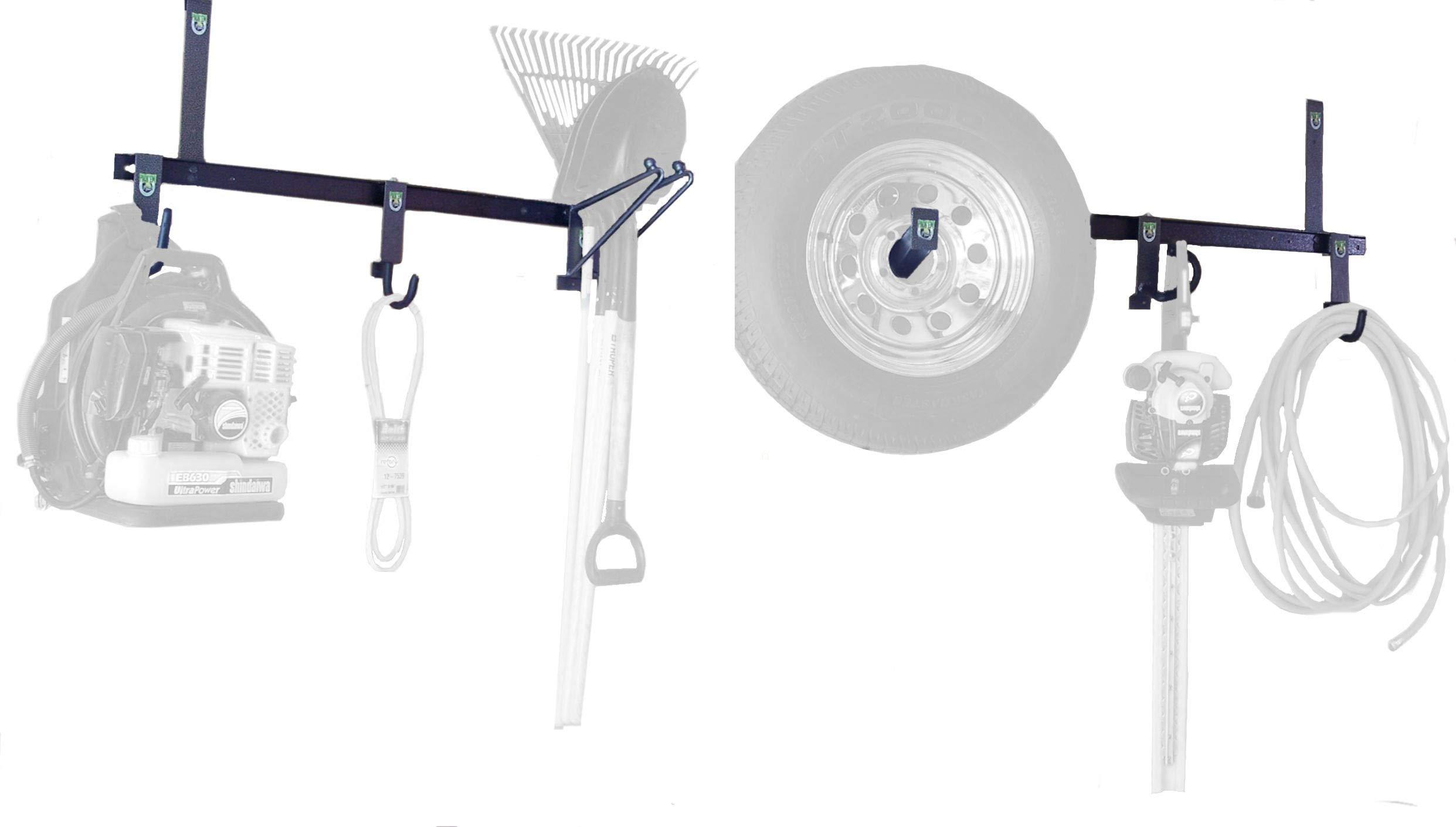 Enclosed Trailer Tool Storage Rack System (PK-OP2 - PK-BM) by Pack'em Racks by Pack'em