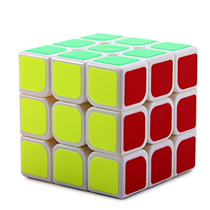 3x3 High Speed Speedy Rubik Magic Puzzle for Brain Teaser by OFIXO
