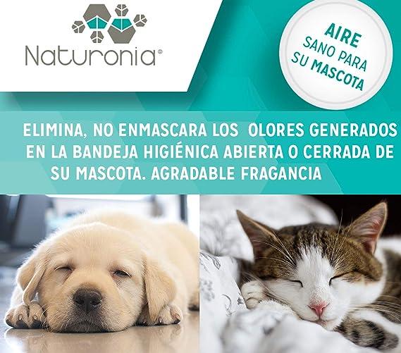 Naturonia Elimina Olores Mascotas Gato Perro - Neutralizador ...