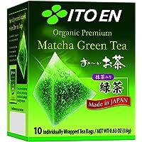 ITO EN Organic Premium Matcha Green Tea, 10 s