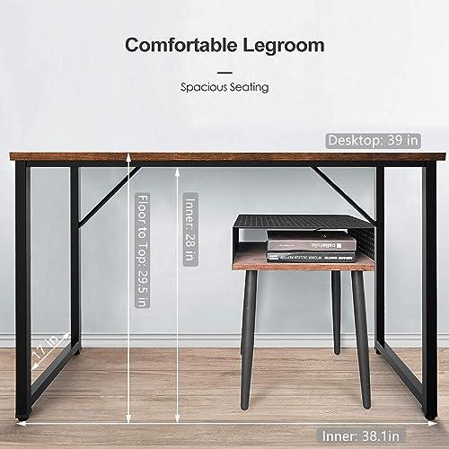OFIKA 39 Inches Home Office Computer Desk