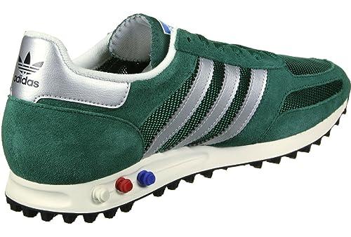 competitive price 2472f d2a1d adidas la Trainer Og Sneaker Uomo, Verde (Collegiate Green Matte  Silver Core Black) 36 EU  Amazon.it  Scarpe e borse