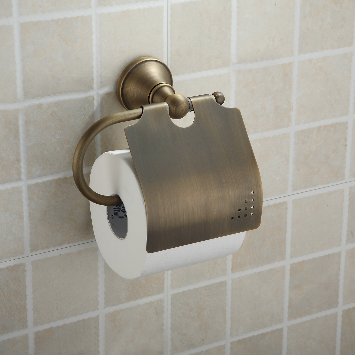 LightInTheBox Antique Brass Wall-mounted Toilet Roll Holder (1018-J-29-6)