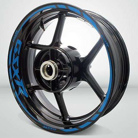 Suzuki GSX R Motorcycle Rim Wheel Decal Accessory Sticker