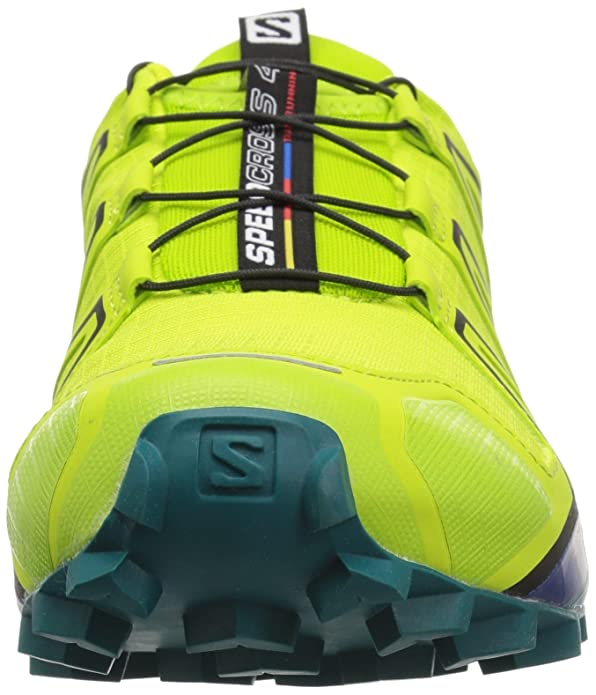 SPEEDCROSS 4 - Laufschuh Trail - acid lime/lime green/deep lake