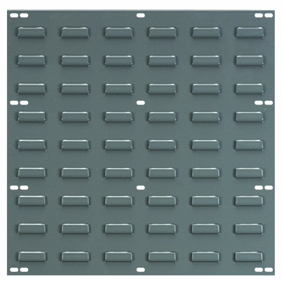 Akro-Mils 30618 Louvered Steel Panel for mounting AkroBins, 18-Inch Wide by 19-Inch High, Grey, Pack of 4 by Akro-Mils