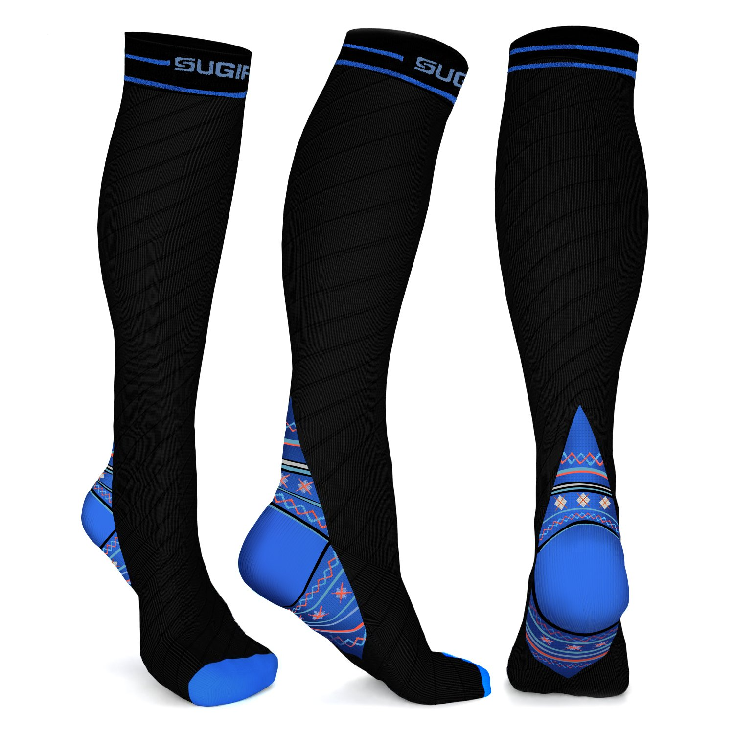 a57f28d9e2 GRADUATED COMPRESSION SOCKS (20-30mmHg) FOR VARICOSE VEINS, THROMBOSIS,  LYMPHEDEMA - Get your blood circulating in style! Great for relief of varicose  veins ...