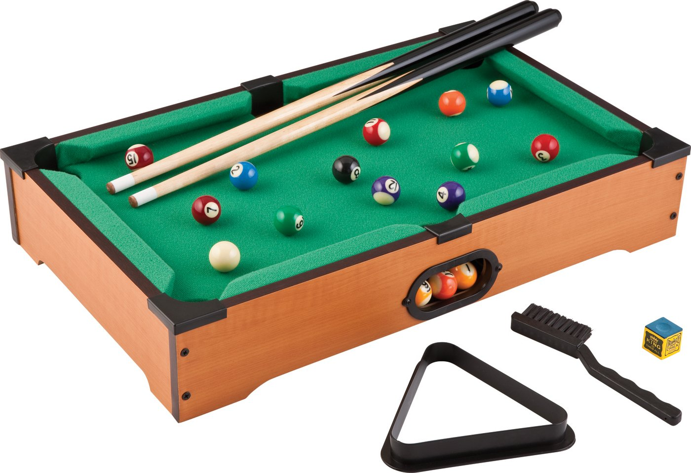 Amazon.com  Mainstreet Classics 20-Inch Table Top Miniature Billiard/Pool Game Set  Tabletop Billiards Games  Sports u0026 Outdoors  sc 1 st  Amazon.com : snooker table set - pezcame.com