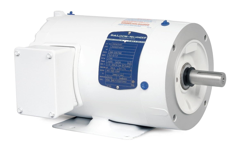 Baldor cwdm3543 lavado de motores, tres fase, totalmente