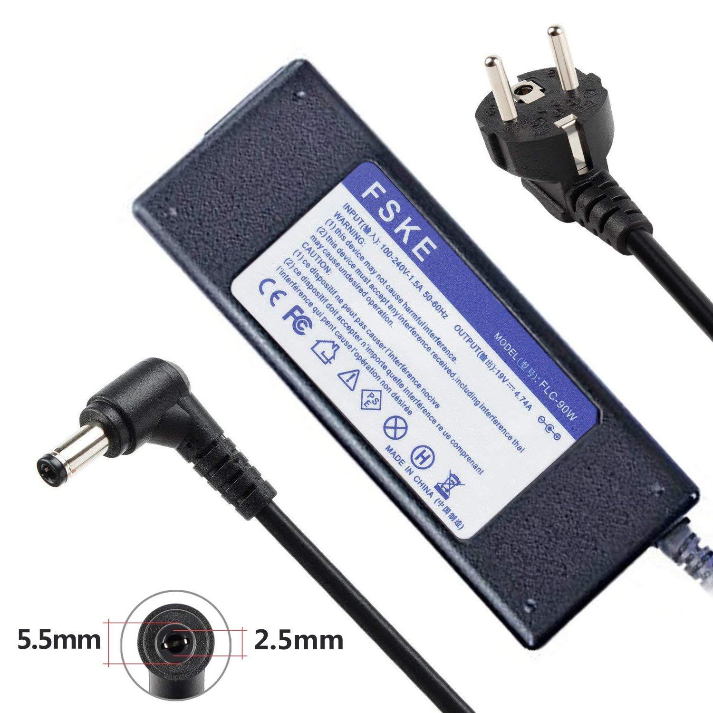 FSKE 90W 19V 4.74A Cargador Portátil para Asus Toshiba ...