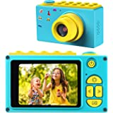 BlueFire Kids Digital Camera Mini 2 Inch Screen Children's Camera 8MP HD Digital Camera Birthday/Christmas/New Year Toy Gifts for 4 5 6 7 8 9 10 Year Old Kids(Blue)