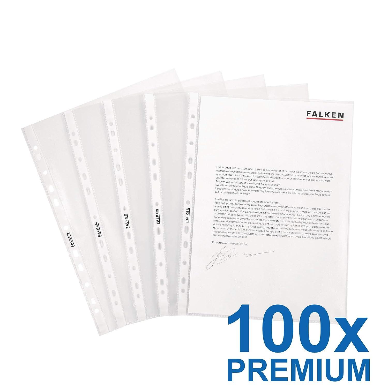 1000 Prospekthüllen Prospekthülle DIN A4 Klarsichthüllen Klarsichthülle NEU