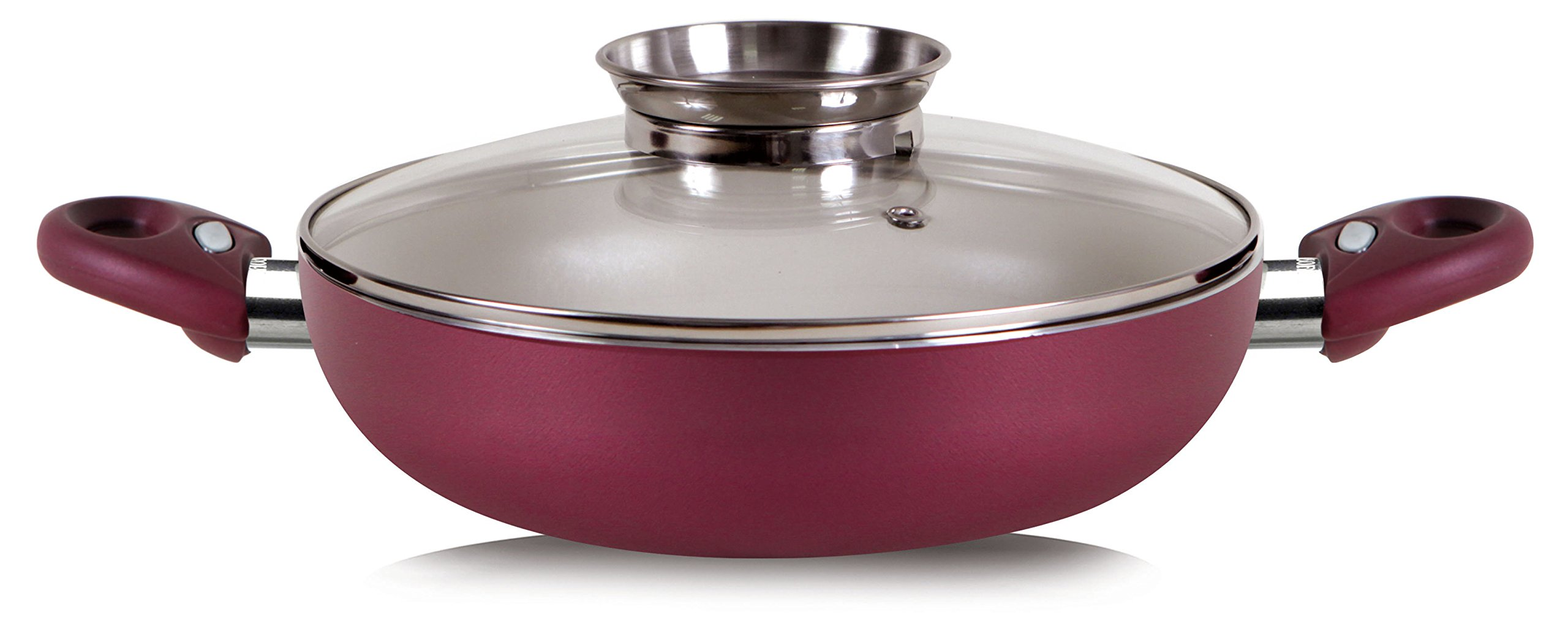 Pensofal Princess Passion Bioceramix Non-Stick Skillet with Aroma Lid, 11-Inch  - 07PEN9712