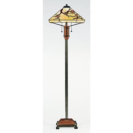 Quoizel tf9404m 2 light tiffany floor lamp in multiple finishes quoizel tf9404m 2 light tiffany floor lamp in multiple finishes aloadofball Image collections