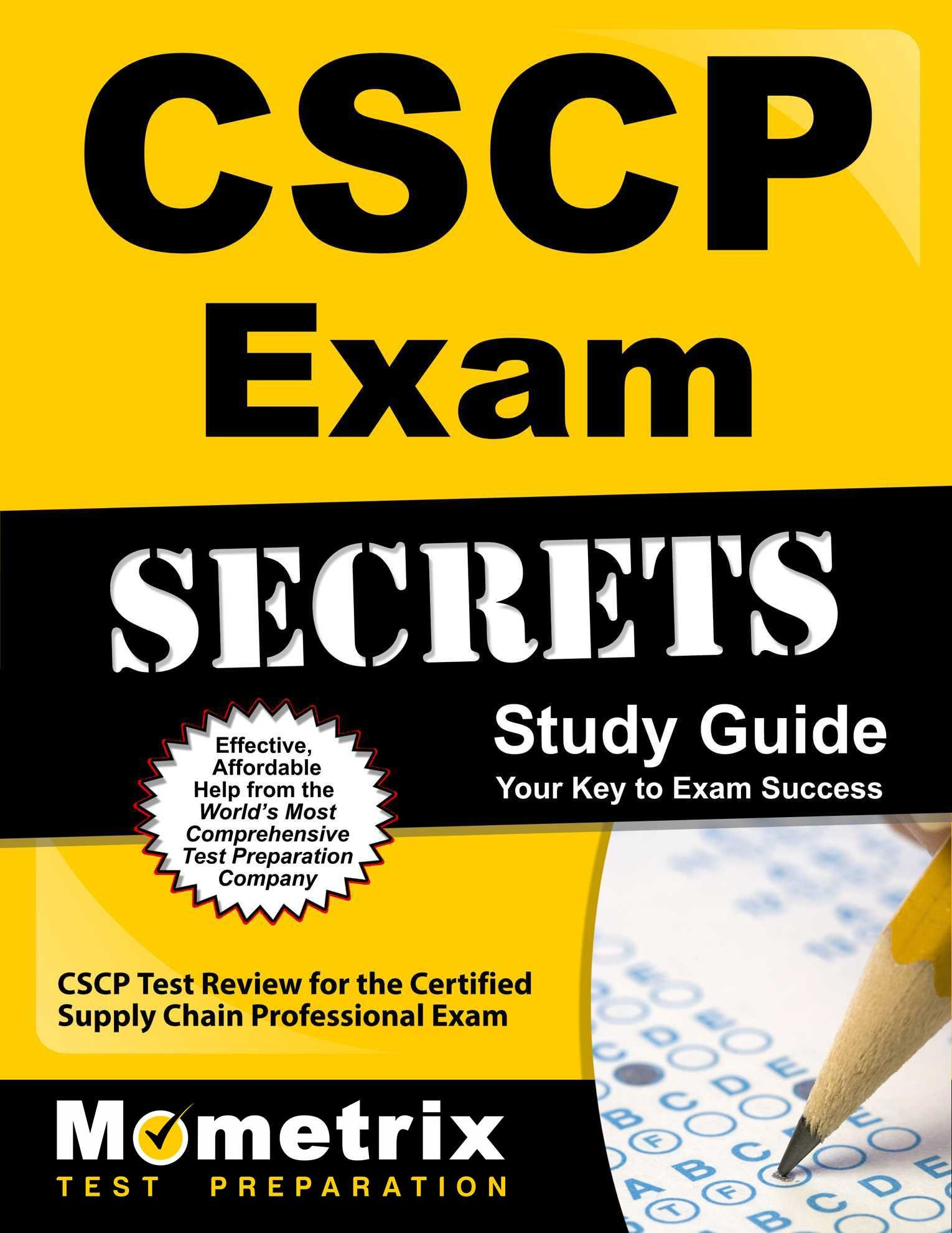 Cscp Exam Secrets Study Guide Cscp Test Review For The Certified