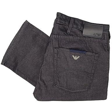 ed5ccdbaf3a9 Emporio Armani Armani Jeans - Jeans - Slim - Homme Grey Shine  Amazon.fr   Vêtements et accessoires