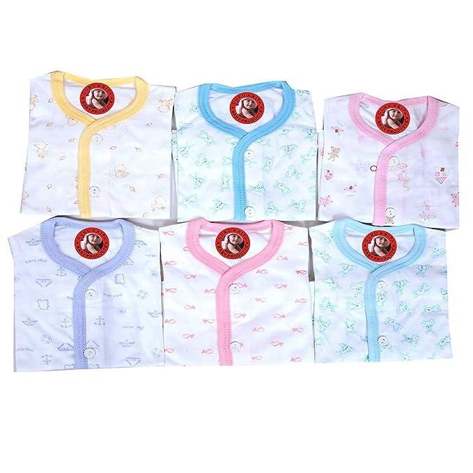 0a8a23536 Zero Baby Girls Printed Cotton Cut Sleeve Sleeveles Regular Fit Vest ...