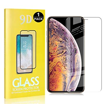 UNEXTATI 1 Pack iPhone 7 Plus//iPhone 8 Plus Screen Protector, Anti-Shatter Tempered Glass Screen Protector for Apple iPhone 7 Plus//iPhone 8 Plus