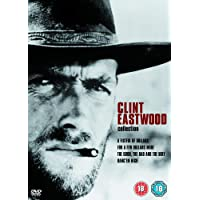 Clint Eastwood 4 Movies Collection: A Fistful of Dollars + For a Few Dollars More + The Good, The Bad and The Ugly + Hang'Em High (4-Disc Box Set) (Fully Packaged Import)