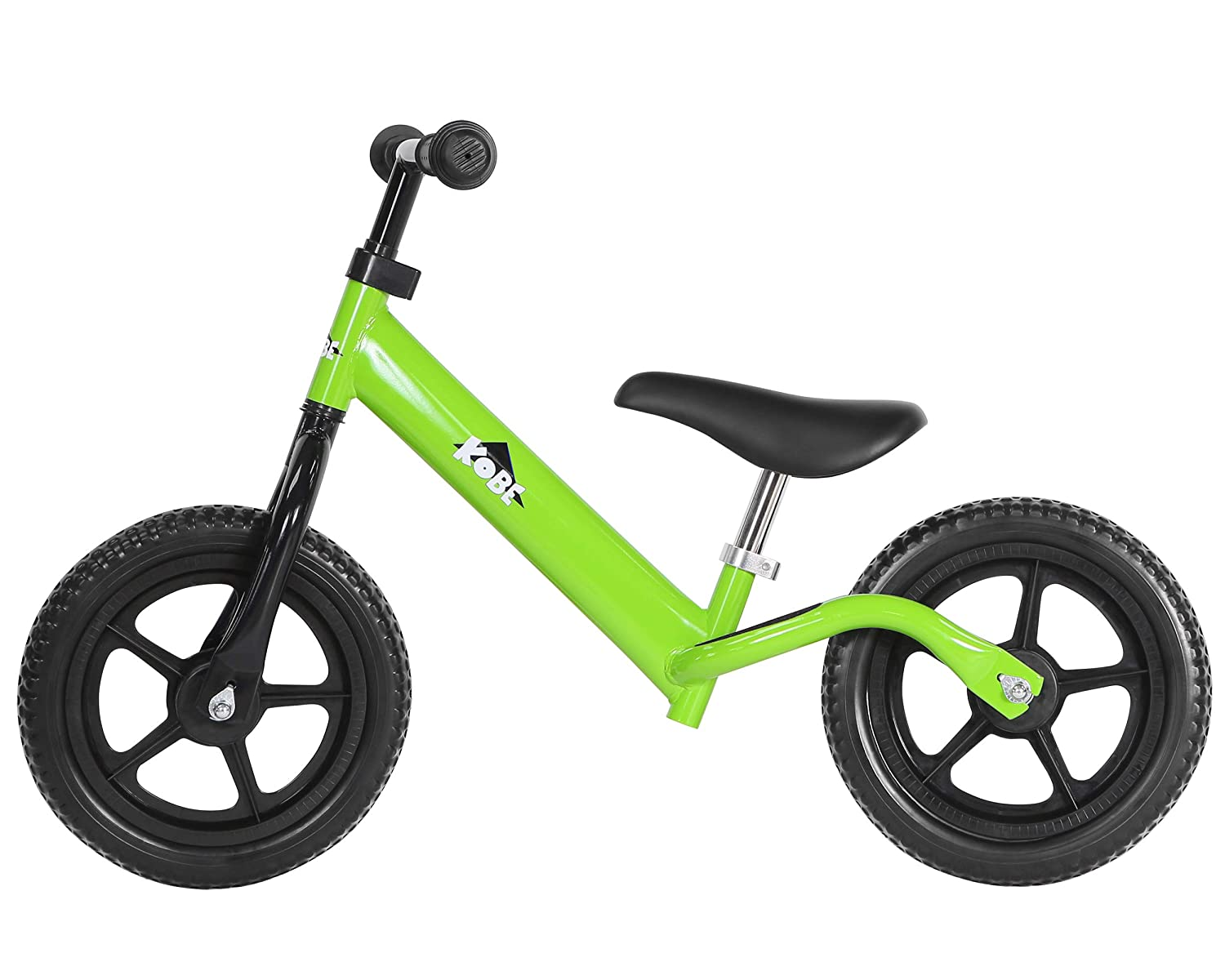 Kobe Aluminum Balance Bike - Lightest Pre-Bicycle - Ages 18 months - 5 years - GREEN 40-20010
