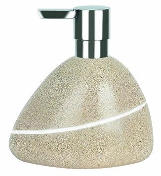 Seifenspender stein  Spirella 1014348 Etna-Polyresin Sand Seifenspender: Amazon.de ...