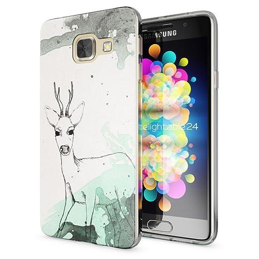 2 opinioni per Samsung Galaxy A3 2017 Cover Custodia Protezione di NICA, Silicone Trasparente