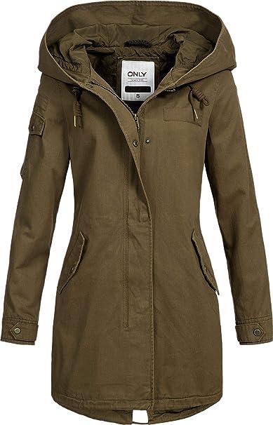 Only Damen Trenchcoat Übergangsjacke Kurzmantel Damenjacke Jacke NEU SALE /%