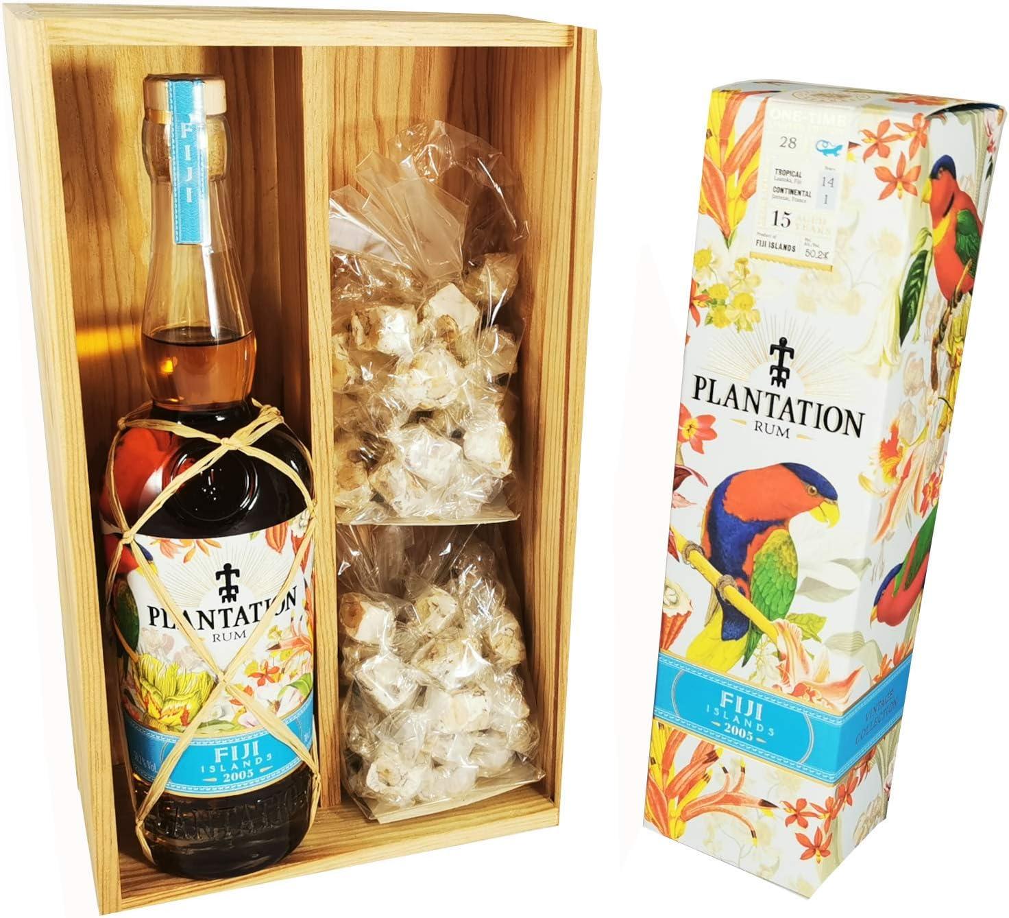 Ron Plantation - Ron Fiji 2005 en caja y 2 * 150 gramos ...