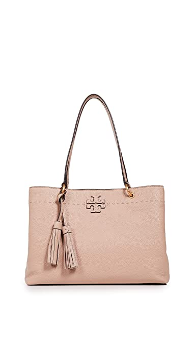 f68895e48bcf Amazon.com  Tory Burch Women s Mcgraw Triple-Compartment Tote
