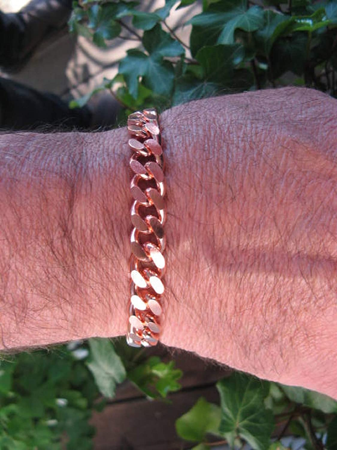 Free Shipping on All U.S Ladies Solid Copper Bracelet #CB629G 316 of an inch wide Available in 6 12 to 8 12 inch lengths Orders.