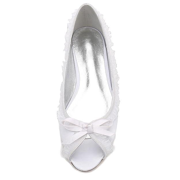 Mujeres La Boda De High Encaje Zapatos Elegant Peep Las Shoes x4q1wRP4I0