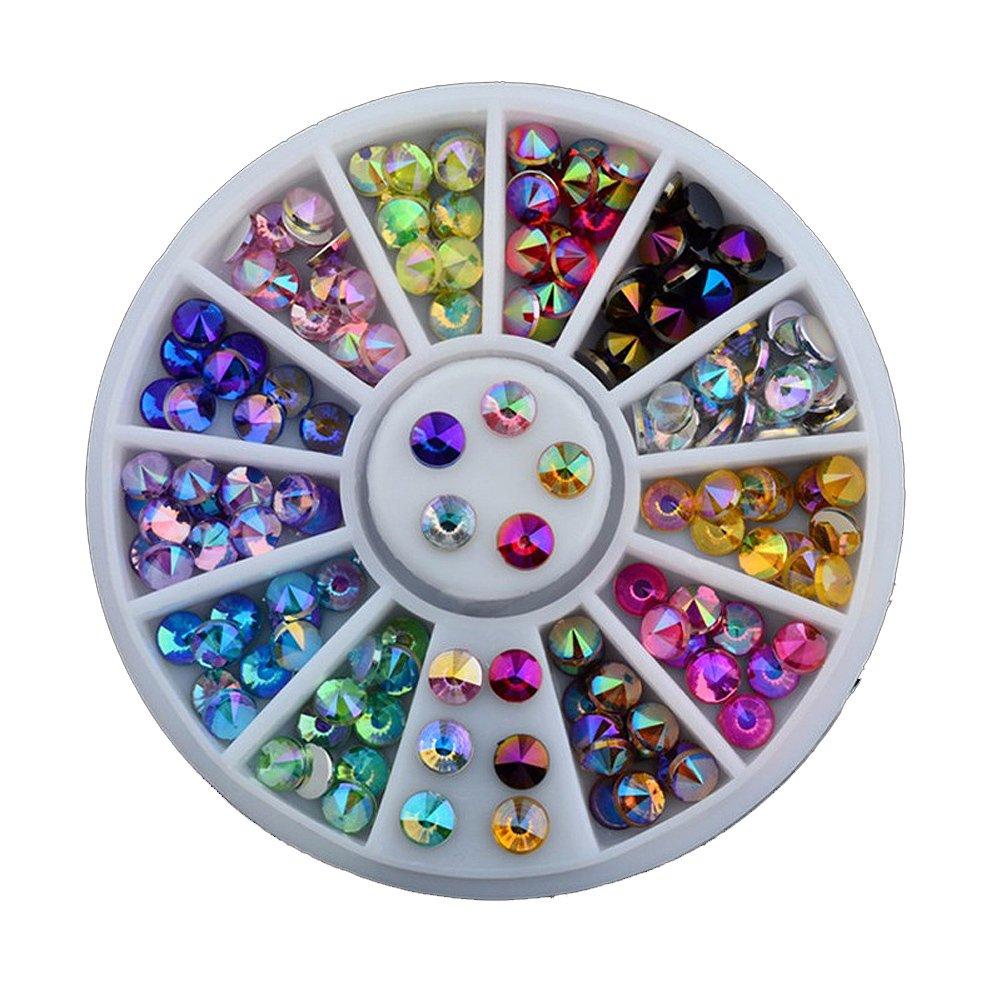 Set Acrílico brillantes brillantes teine uñas decoración uñas (12colores No Name BEA20