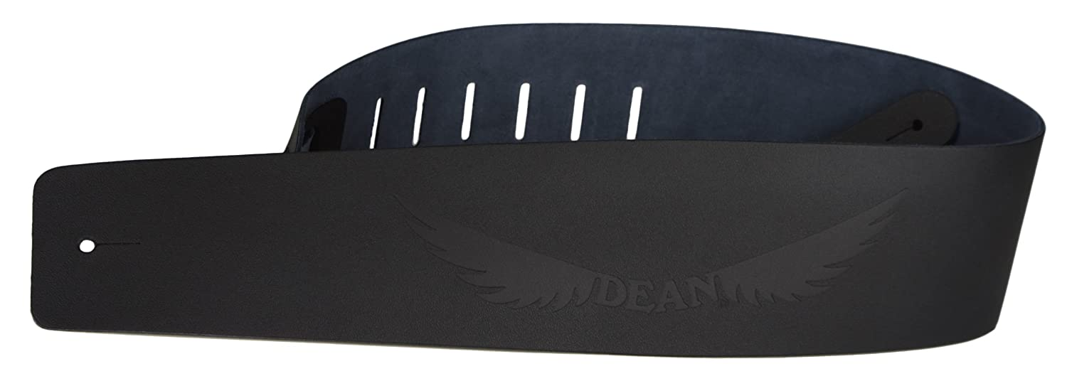 Dean Guitars 3.5-Inch Leather Strap