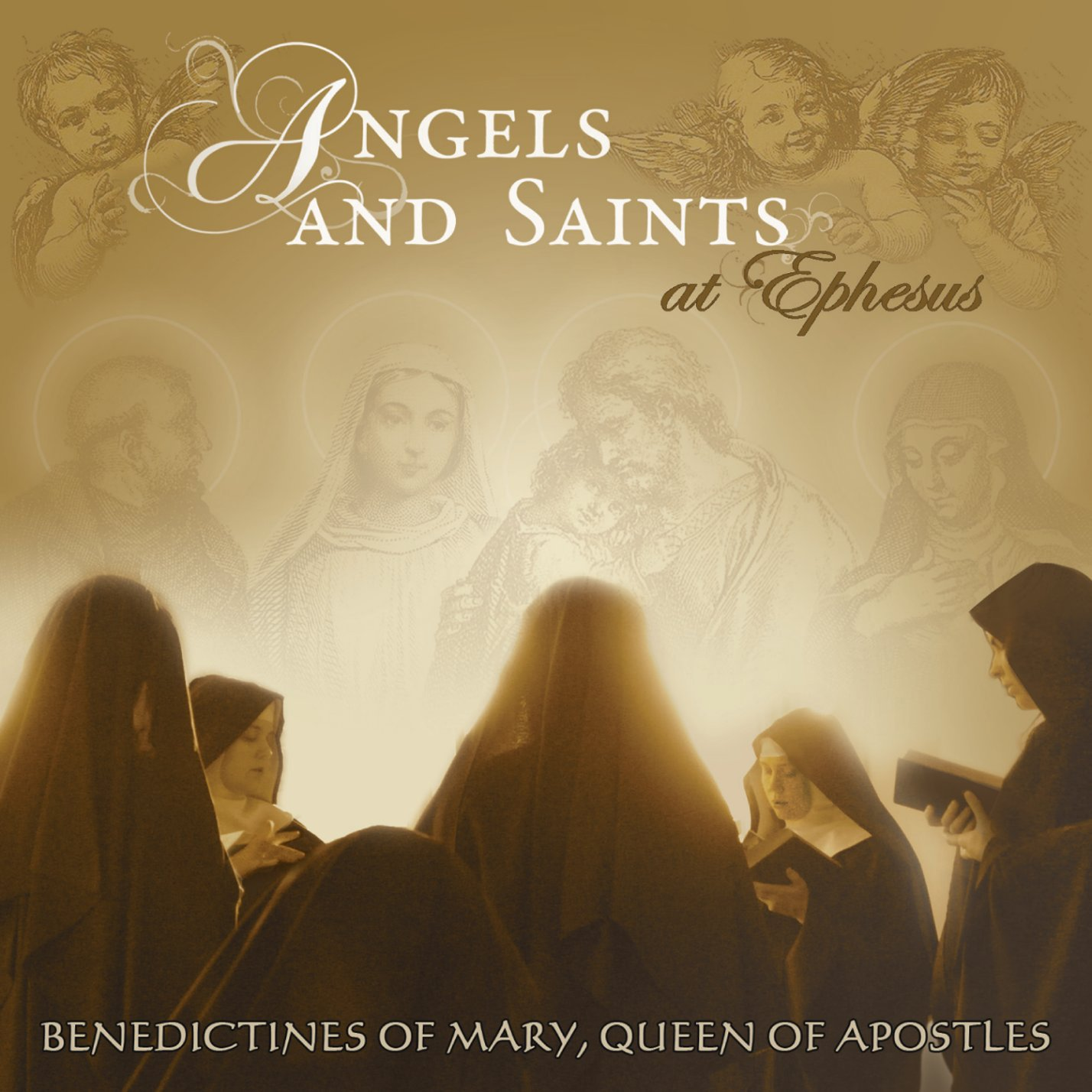 Angels And Saints At Ephesus by Decca